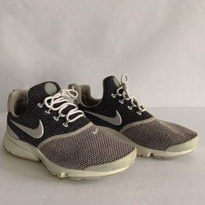 Nike Presto Fly SE Running Shoe Gray Wmns Size 6.5